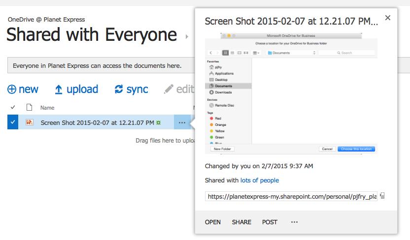 Barry Simpson - Sharing Screenshots on the Mac Using